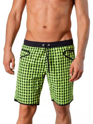 Geronimo Board Shorts, Item number: 1413p4 Green, Color: Green, photo 1