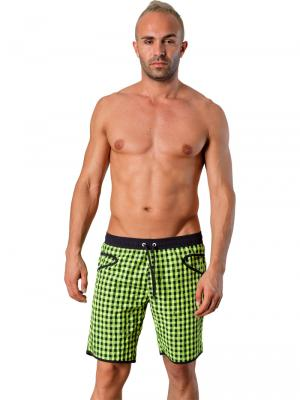 Geronimo Board Shorts, Item number: 1413p4 Green, Color: Green, photo 2