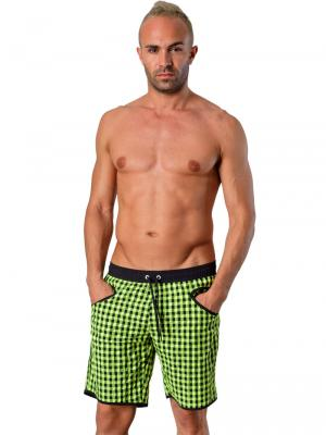 Geronimo Board Shorts, Item number: 1413p4 Green, Color: Green, photo 3
