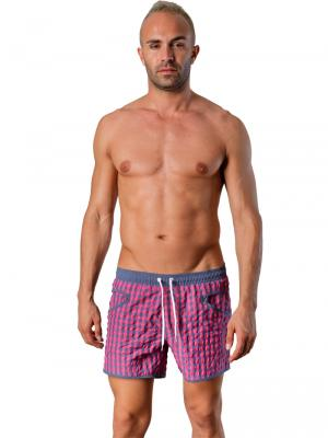 Geronimo Swim Shorts, Item number: Silvester Pink, Color: Pink, photo 2