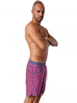 Geronimo Board Shorts, Item number: 1413p4 Pink, Color: Pink, photo 3