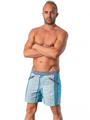 Geronimo Swim Shorts, Item number: Vanyo Petrolium, Color: Blue, photo 3