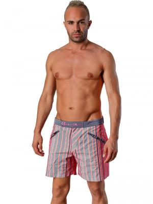 Geronimo Swim Shorts, Item number: Vanyo Red, Color: Red, photo 2