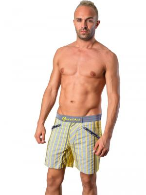 Geronimo Swim Shorts, Item number: Vanyo Yellow, Color: Yellow, photo 2