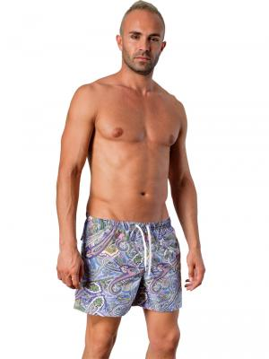 Geronimo Swim Shorts, Item number: 1405p1 Blue, Color: Multi, photo 2