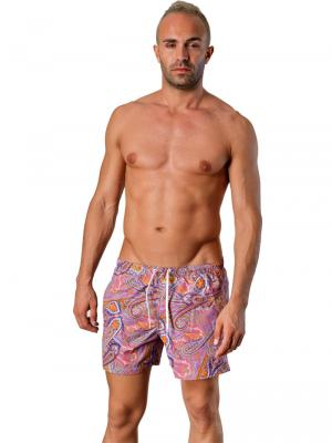 Geronimo Swim Shorts, Item number: 1405p1 Purple, Color: Multi, photo 2