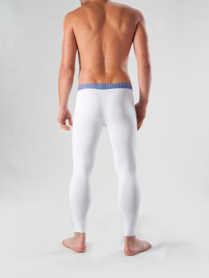 Geronimo Long Johns, Item number: 1265j6 White with Blue, Color: White, photo 5