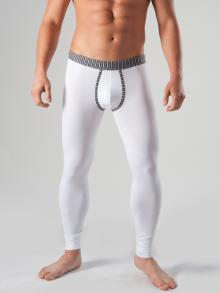 Long Johns, Geronimo, Item number: 1265j6 White with Grey