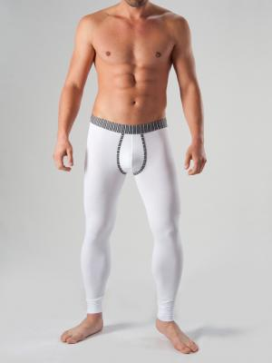 Geronimo Long Johns, Item number: 1265j6 White with Grey, Color: White, photo 2