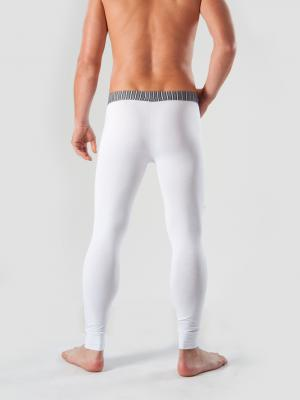 Geronimo Long Johns, Item number: 1265j6 White with Grey, Color: White, photo 4