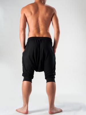 Geronimo Lounge Pants, Item number: 1277lp2 Black, Color: Black, photo 5