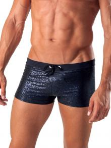 Boxers, Geronimo, Item number: 1514b1 Black Swim Trunk