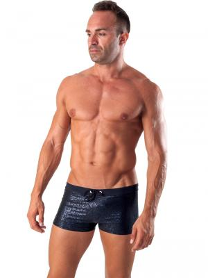 Geronimo Boxers, Item number: 1514b1 Black Swim Trunk, Color: Black, photo 2