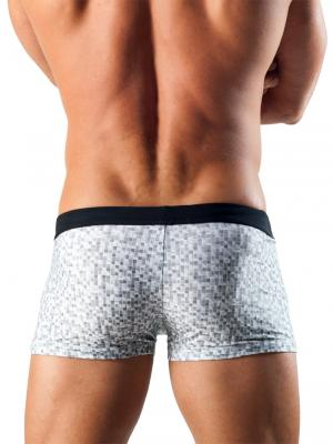 Geronimo Boxers, Item number: 1514b1 White Swim Trunk, Color: White, photo 4