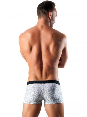 Geronimo Boxers, Item number: 1514b1 White Swim Trunk, Color: White, photo 5