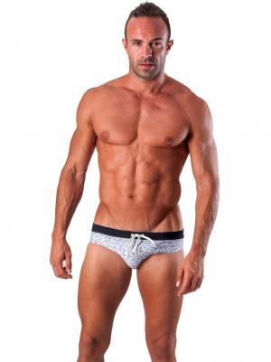 Geronimo Briefs, Item number: 1514s2 White Swim Brief, Color: White, photo 2
