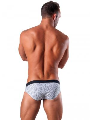 Geronimo Briefs, Item number: 1514s2 White Swim Brief, Color: White, photo 4