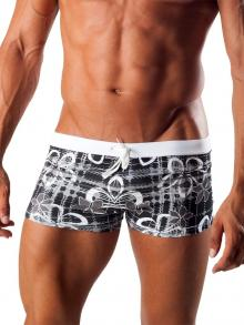 Boxers, Geronimo, Item number: 1501b1 Black Swim Trunk