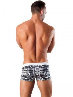 Geronimo Boxers, Item number: 1501b1 Black Swim Trunk, Color: Black, photo 5