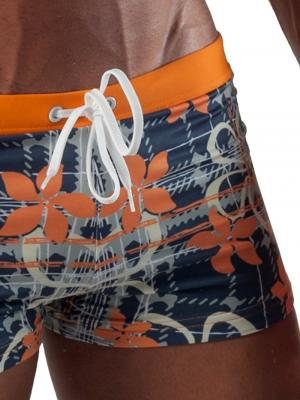 Geronimo Boxers, Item number: 1501b1 Orange Swim Trunk, Color: Orange, photo 3