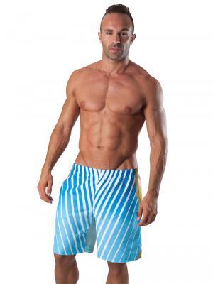 Geronimo Board Shorts, Item number: 1553p4 Dark Boardshort, Color: Multi, photo 2