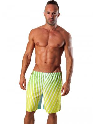 Geronimo Board Shorts, Item number: 1553p4 Green Boardshort, Color: Multi, photo 2