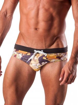 Geronimo Briefs, Item number: 1507s2 Brown Swim Brief, Color: Brown, photo 1
