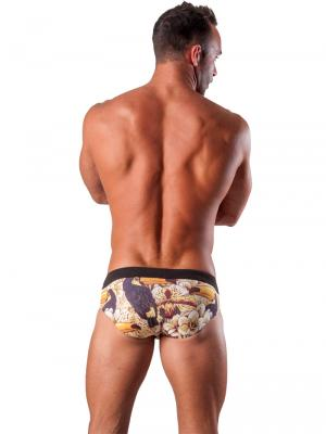 Geronimo Briefs, Item number: 1507s2 Brown Swim Brief, Color: Brown, photo 5