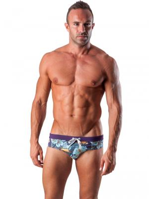 Geronimo Briefs, Item number: 1507s2 Purple Swim Brief, Color: Purple, photo 2