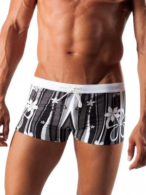 Geronimo Boxers, Item number: 1503b1 Black Swim Trunk, Color: Black, photo 1