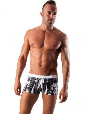 Geronimo Boxers, Item number: 1503b1 Black Swim Trunk, Color: Black, photo 2