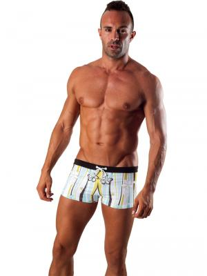 Geronimo Boxers, Item number: 1503b1 Light Swim Trunk, Color: Multi, photo 2