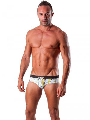 Geronimo Briefs, Item number: 1503s2 Light Swim Brief, Color: Multi, photo 2