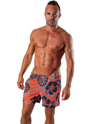Geronimo Swim Shorts, Item number: 1502p1 Orange Swim Short, Color: Orange, photo 2