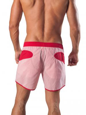 Geronimo Swim Shorts, Item number: 1540p1 Red Swim Short, Color: Red, photo 5