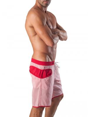 Geronimo Board Shorts, Item number: 1540p4 Red Boardshort, Color: Red, photo 3