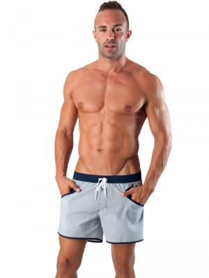Geronimo Swim Shorts, Item number: 1540p1 Navy Swim Short, Color: Blue, photo 2
