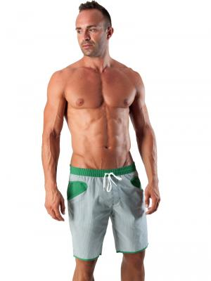 Geronimo Board Shorts, Item number: 1540p4 Green Boardshort, Color: Green, photo 2