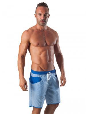 Geronimo Board Shorts, Item number: 1540p4 Blue Boardshort, Color: Blue, photo 2