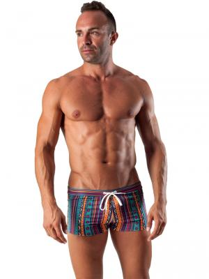 Geronimo Boxers, Item number: 1509b1 Party Swim Trunk, Color: Multi, photo 2