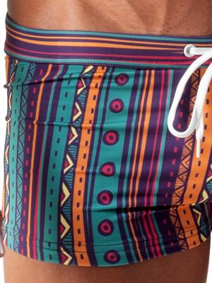Geronimo Boxers, Item number: 1509b1 Party Swim Trunk, Color: Multi, photo 3