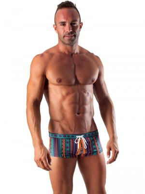 Geronimo Square Shorts, Item number: 1509b2 Party Swim Hipster, Color: Multi, photo 2