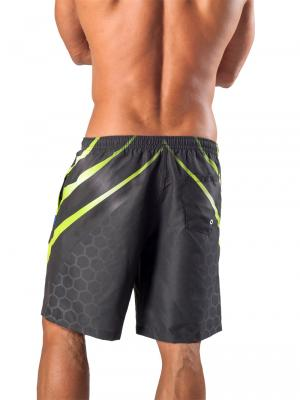 Geronimo Board Shorts, Item number: 1563p4 Boardshorts, Color: Black, photo 4