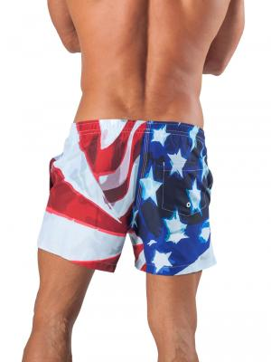 Geronimo Swim Shorts, Item number: 1532p1 Eagle Swim Short, Color: Multi, photo 4
