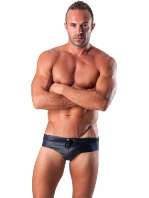 Geronimo Briefs, Item number: 1517s2 Black Swim Brief, Color: Black, photo 2