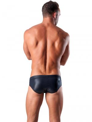 Geronimo Briefs, Item number: 1517s2 Black Swim Brief, Color: Black, photo 5