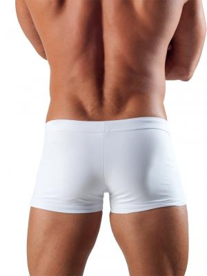 Geronimo Boxers, Item number: 1516b1 White Swim Trunk, Color: White, photo 4