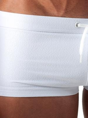Geronimo Square Shorts, Item number: 1516b2 White Swim Hipster, Color: White, photo 3
