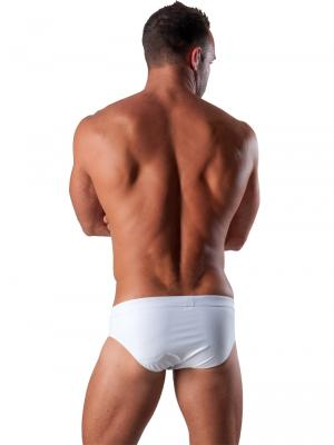 Geronimo Briefs, Item number: 1516s2 White Swim Brief, Color: White, photo 5