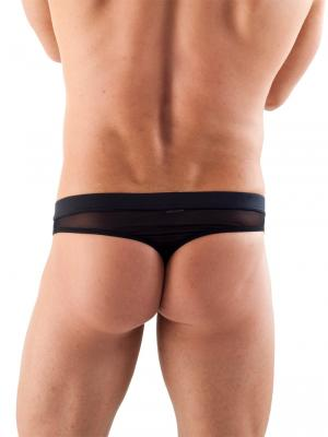Geronimo Thongs, Item number: 1361s9 Black Reveal Thong, Color: Black, photo 1